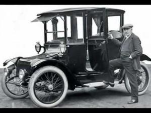 Auto elettrica metà 1800